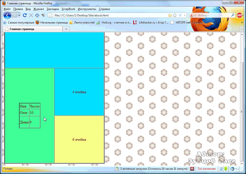 Изображение карта html как сделать