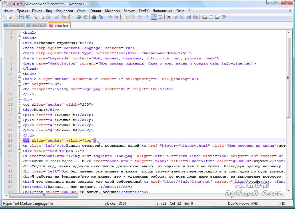 как создавать html картинку